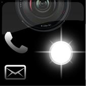Call Flashing Light Alert Pro icon