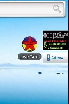 Love Tarot Reading poster