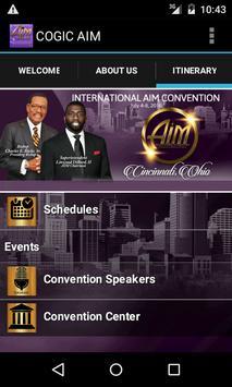 COGIC AIM Convention apk screenshot