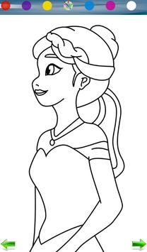Coloring: Frozen screenshot 5
