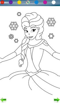 Coloring: Frozen screenshot 6