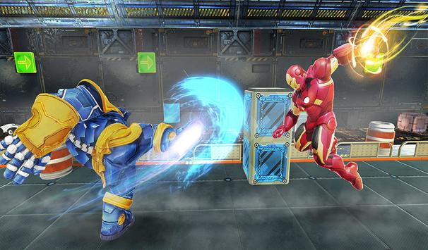 Real Future Superhero Street Fight- Thanos Battle screenshot 6