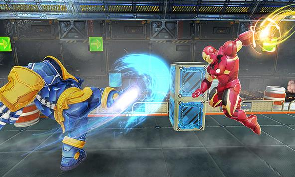 Real Future Superhero Street Fight- Thanos Battle screenshot 11