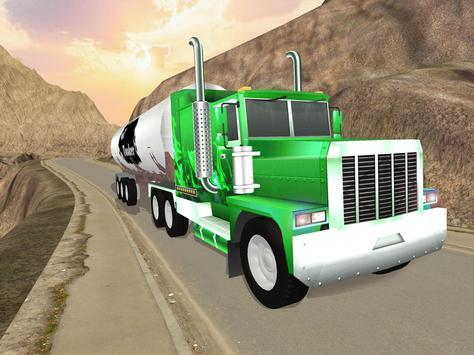 Uphill Oil Tanker Fuel Transport Sim 2018 screenshot 14