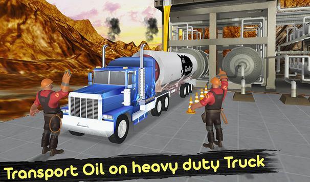 Uphill Oil Tanker Fuel Transport Sim 2018 screenshot 8
