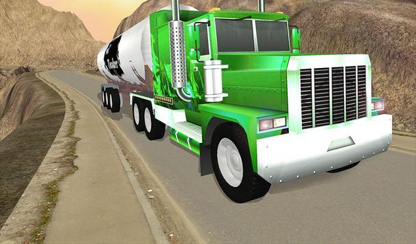 Uphill Oil Tanker Fuel Transport Sim 2018 screenshot 9