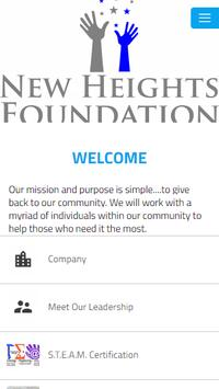 New Heights Foundation poster