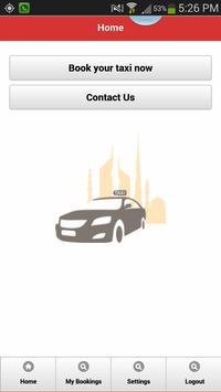 RTA Smart Taxi screenshot 1