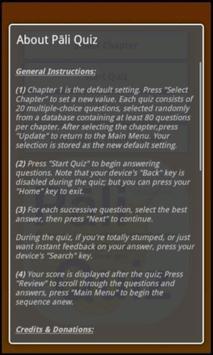 Pāli Quiz screenshot 6