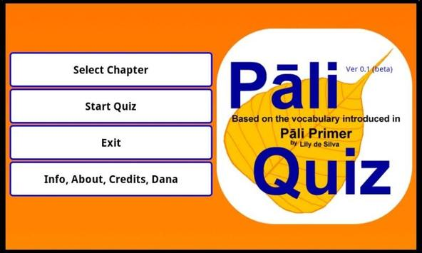 Pāli Quiz screenshot 7