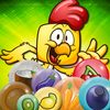 Farm Bubble Shooter Trouble أيقونة