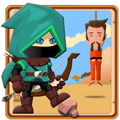 Arrow Of Justice Archery Fight icon