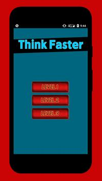 Think Faster poster