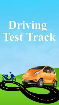 Driving Test Track poster