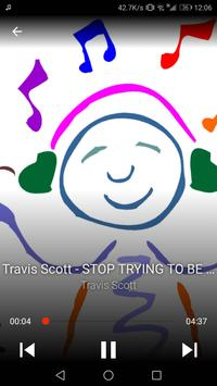 Travis Scott - STOP TRYING TO BE GOD poster