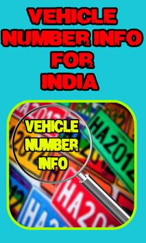 Vehicle Number Info poster