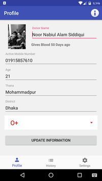 The Blood Bank apk screenshot