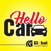 Hello Car icon
