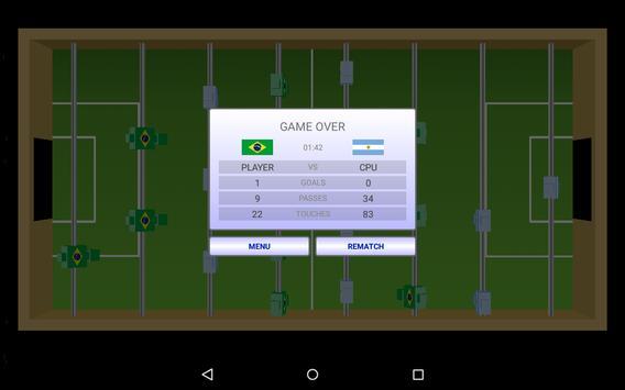 Virtual Table Football captura de pantalla 3