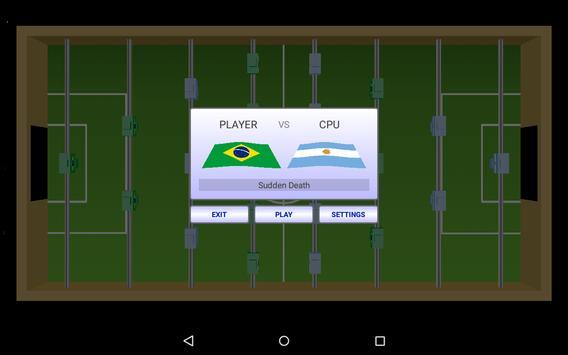 Virtual Table Football captura de pantalla 1