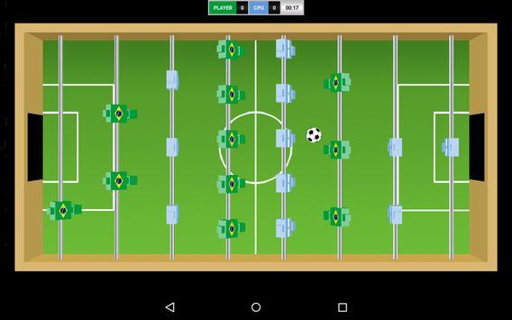Virtual Table Football captura de pantalla 2