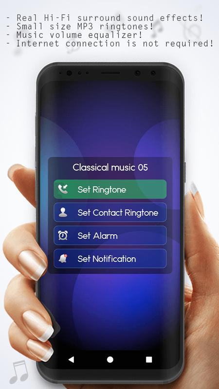 Classical music ringtones – relax. Ing piano melodies and classic.