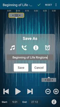 412e358a79d ... Cortar MP3 Y Crear Ringtones Cortador De Canciones captura de pantalla  4 ...
