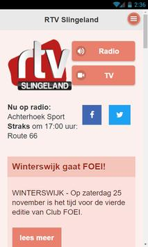 RTV Slingeland poster