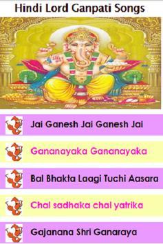 Hindi Lord Ganpati Bhajans poster