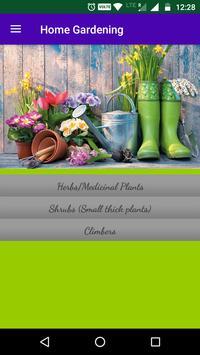 Home Gardening poster