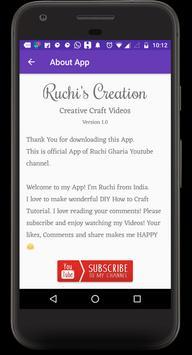 Art & Craft - Ruchis Creation apk screenshot