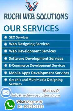 Ruchi Web Solutions- Android App Dev & Training screenshot 1