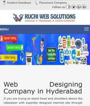 Ruchi Web Solutions- Android App Dev & Training screenshot 2