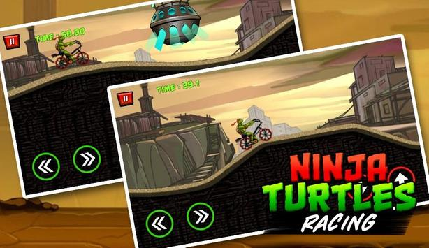 Ninja Turtle Climb Racing - Bike racer 2018 poster