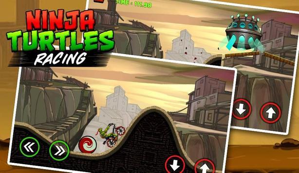 Ninja Turtle Climb Racing - Bike racer 2018 screenshot 2