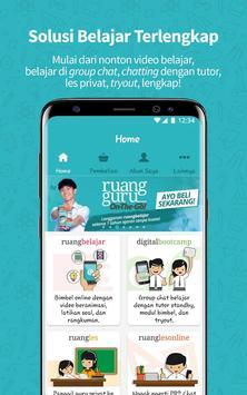 Ruangguru – Aplikasi Belajar Nomor 1 poster