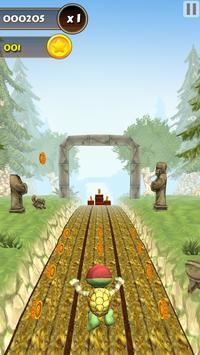 Ninja Top Runner - Turlte Run apk screenshot