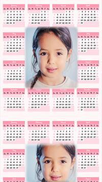 Calendar Photo Frames 2018 for Kids screenshot 2