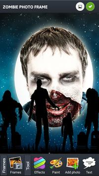 Photo Frame Zombie poster
