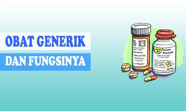 Obat Generik Lengkap poster
