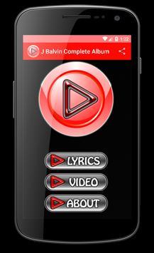J Balvin Safari Song Lyrics apk screenshot