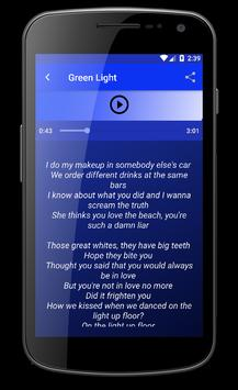 Lorde Green Light Lyrics Songs poster
