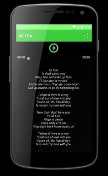 Yuna Crush Song Lyric apk screenshot