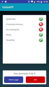 ImitaAPP - Adivina la palabra apk screenshot