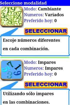 Primitiva combinaciones screenshot 2