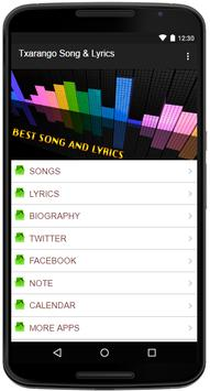 Txarango Song&Lyrics apk screenshot