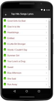 Leighton Meester Song&Lyrics apk screenshot