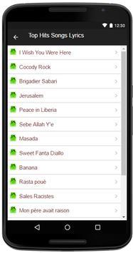 Alpha Blondy Song+Lyrics apk screenshot
