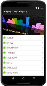 Angelique Kidjo Song&Lyrics apk screenshot