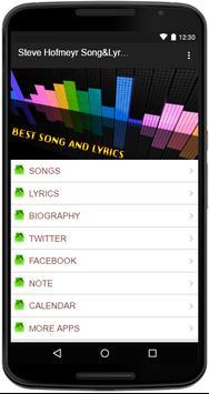 Steve Hofmeyr Song&Lyrics apk screenshot